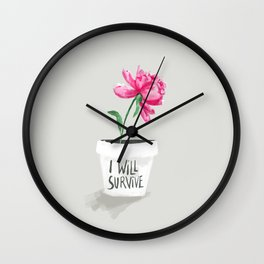 I Will Survive Wall Clock