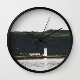 Isle Of Mull Lighthouse Wall Clock