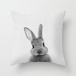 Print 48 - Peekaboo Bunny Throw Pillow