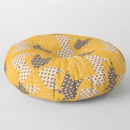 Clover&Nessie  Mandarin/Mocha Floor Pillow