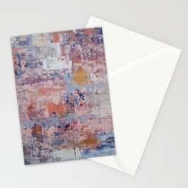 Mirage [3]: a pretty, vibrant mixed-media piece by Alyssa Hamilton Art Stationery Cards