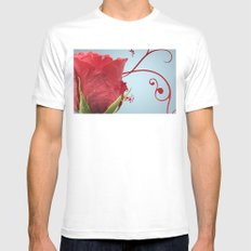 Rose, Reinvented Mens Fitted Tee White MEDIUM