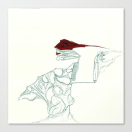 UnHuman#13 Canvas Print