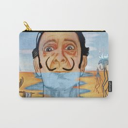The Persistence of Dali Carry-All Pouch