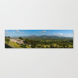Phaistos Archaeology Site, Crete Canvas Print