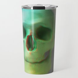 Anaglyph // Skull Travel Mug