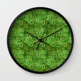 Beer Pickled Jalapenos Wall Clock