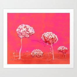 Brainforest Art Print