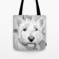 mac Tote Bags featuring Mac by  Alexia Miles photography