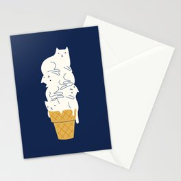 Meowlting Stationery Cards