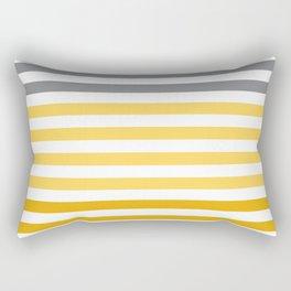 Stripes Gradient - Yellow Rectangular Pillow