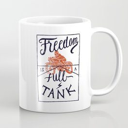 Freedom biker print Coffee Mug