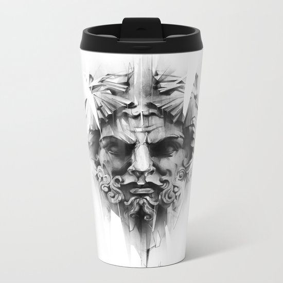 King Of Diamonds Metal Travel Mug