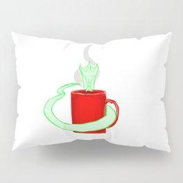 Dragon's coffee Pillow Sham