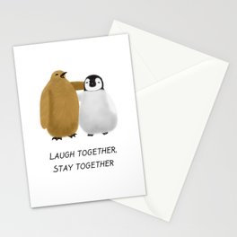 Penguin Pals Stationery Cards
