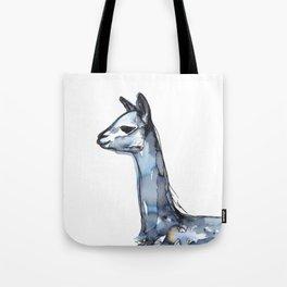 Vicuna Watercolor Sketch Tote Bag