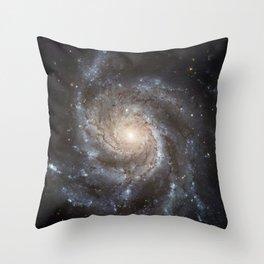 Pin wheel Galaxy Throw Pillow