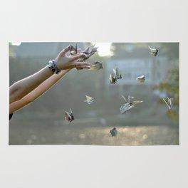 Paper Cranes Rug