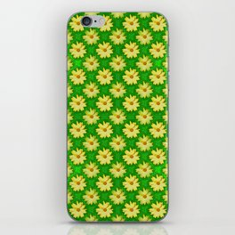 Springtime power pattern iPhone Skin