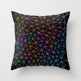 Geometric Glow Throw Pillow