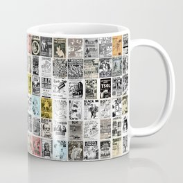 Punk Show Flyers Coffee Mug