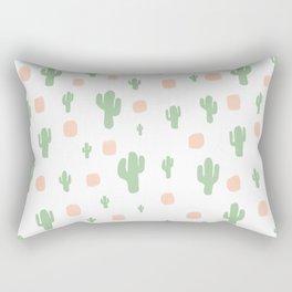 Cactus Pattern - tight Rectangular Pillow
