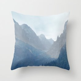 Zion no.4 Throw Pillow
