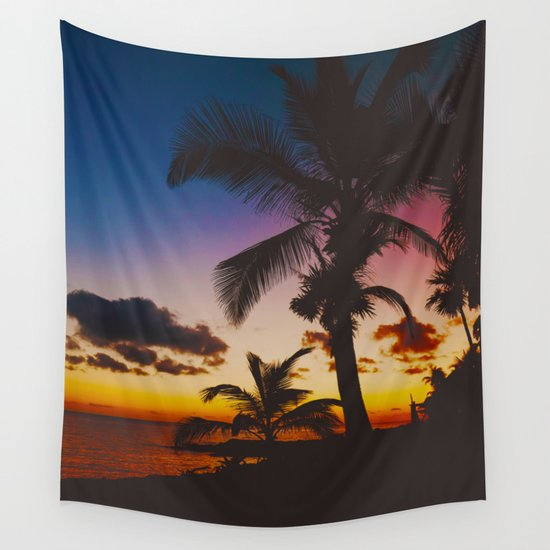 Palm Spring Wall Tapestry