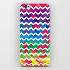 Mixed Colors iPhone & iPod Skin