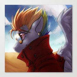 My Little Pony/Trigun - Dash the Stampede Canvas Print