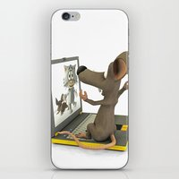 nightmare iPhone & iPod Skins featuring nightmare by Ancello