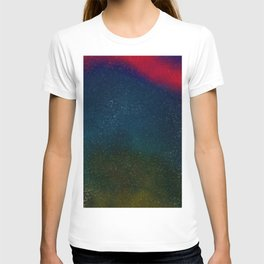 Dark nebula sky T-shirt