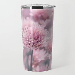 Allium pink 0146 Travel Mug