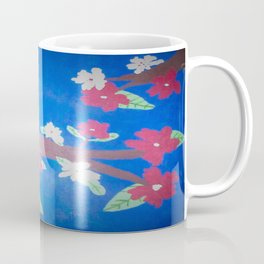 Red and White Blossoms Coffee Mug