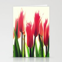tulips Stationery Cards featuring Tulips by 2sweet4words Designs