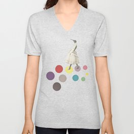 Bird Lady Unisex V-Neck