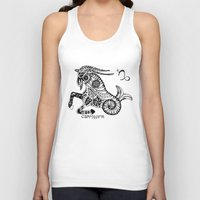 capricorn Tank Tops featuring Capricorn by Anna Shell
