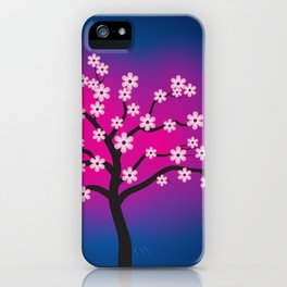 Glowing Blossom Tree iPhone Case