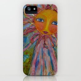 Miss Sunshine - Whimsies of Light Children Series iPhone Case
