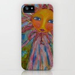 Miss Sunshine - Whimsies of Light Children Series iPhone Case