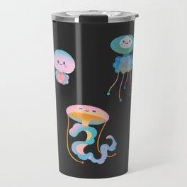Pastel Jellyfish Travel Mug