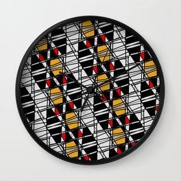 Avant-garde pattern Wall Clock