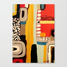 chemins Canvas Print