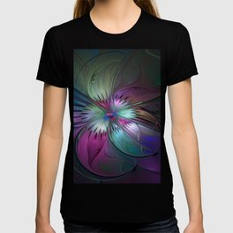 Abstract Colorful Fractal Art T-shirt