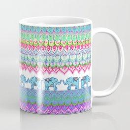 Tiny Circus Elephants Coffee Mug