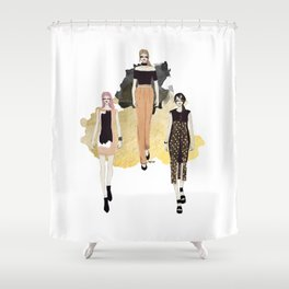 Fashionary 5 Shower Curtain