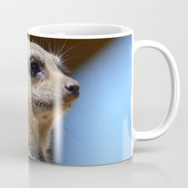Meerkat at Peak Wildlife Park Coffee Mug