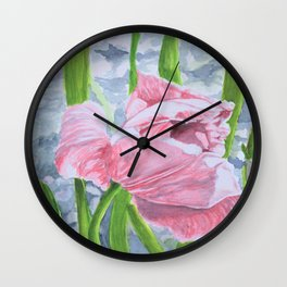 Tulip garden 2 Wall Clock