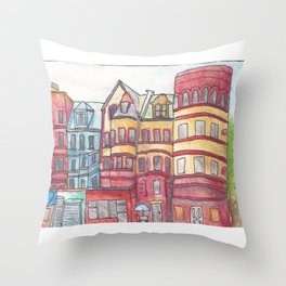 Sugar Hill, Harlem Throw Pillow