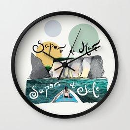 Capri Island Wall Clock